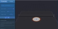01. Quantum dot tunneling through single high barrier