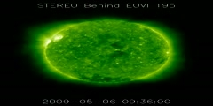 First Major Flare of Solar Cycle