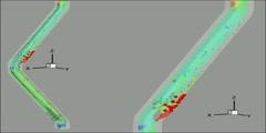 Gravity Selectivity Particle deposition along a Reflux Class