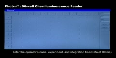 Photon - 96 well Chemiluminescence Reader