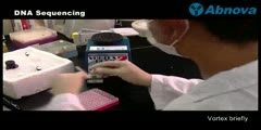 Process of DNA Sequencing