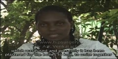 Total Hip replacement India Nigerian patient story/MJRC