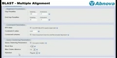 BLAST - Multiple Alignment
