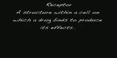 Pharmacology - Receptor and Antagonist