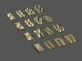 2D Standing Wave Patterns (rectangular fixed boundaries)