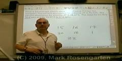 Chemistry Tutorial 3.01b : Weight Average Atomic Mass