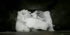 Crushing of Calcium Carbonate