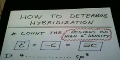 What is sp3, sp2, and sp hybridization