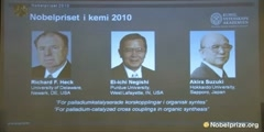 2010 Nobel Prize in Chemistry Announcement