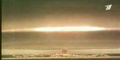The biggest bomb ever the Tsar Bomb -