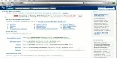 NCBI Bioinformatics Website
