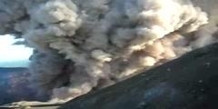 Eruption of the Masaya Volcano
