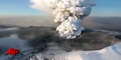 Iceland Volcano Spews More Ash - Raw Video