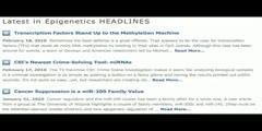 EpiGenie and Epigenetics video