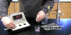 Soil electrical conductivity (EC) Test