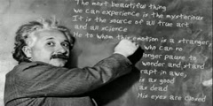 Einstein's quotations: his views about life