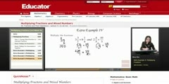 Multiplication of  Fractions and Mixed Numbers