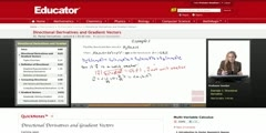 Multivariable Calculus_ Directional Derivatives and Gradient