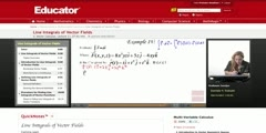 Calculating The Line Integrals of Vector Fields