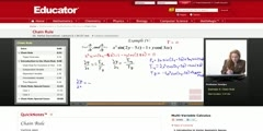 Partial Derivative Chain Rule