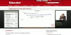 Multivariable Calculus_ Tangent Planes and Linear Approximat