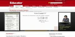 Solving Complex Numbers