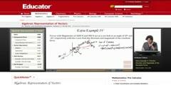 Representation of Vectors in Algebraic Form