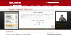 Parametric Equations to Model Motion