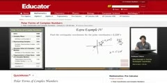 Complex Numbers Polar Form