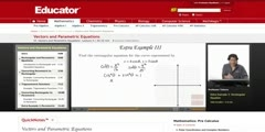 Parametric Equations And Vectors