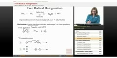 Free Radical Halogenation