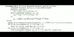 A Particular Solutions Inhomogeneous 2nd Order ODE Formula