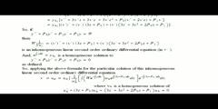 A Particular Solutions Inhomogeneous 3rd Order ODE Formula