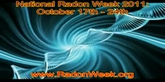 USA National Radon Awareness Week October 17th-24th, 2011
