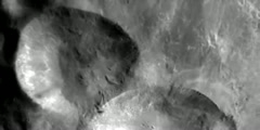 NASAs journey above Vesta asteroid