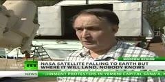 NASA UARS satellite to hit Earth anywhere