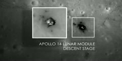 Images of Apollo 12 14and 17 Sites