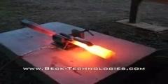 Thermal pulse  Chinese Valveless Pulse jet Engine