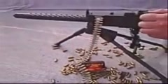 Video of a Mini machine gun