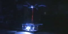 1 million volts Tesla Coil (1 of 2)