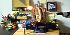 Homebuilt Power Generator Handmade