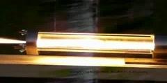 A demonstration of a hybrid rocket motor