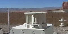Wind Turbine Generator VAWT Homemade