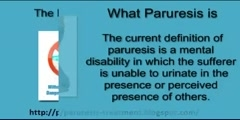 Overcome Your Paruresis or Shy Bladder