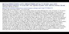 50 Years of using  Auto-hemotherapy