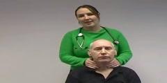 Video of Thyroid gland clinical exam
