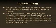 The Islam and modern medicine