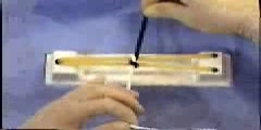 Tying a Squared Notch Demonstration