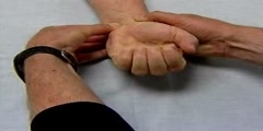 Testing Circulation of  Radial & Ulnar Artery