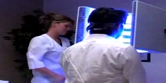 Laser treatment to cure acne
